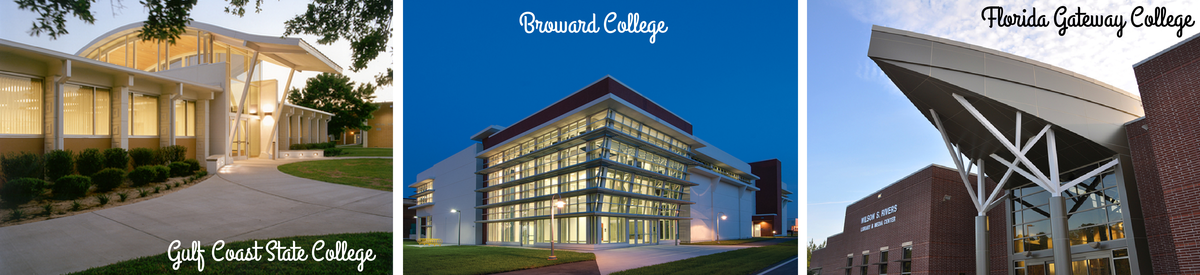 Florida College System Schools - Gulf Coast State, Broward College, Florida Gateway College