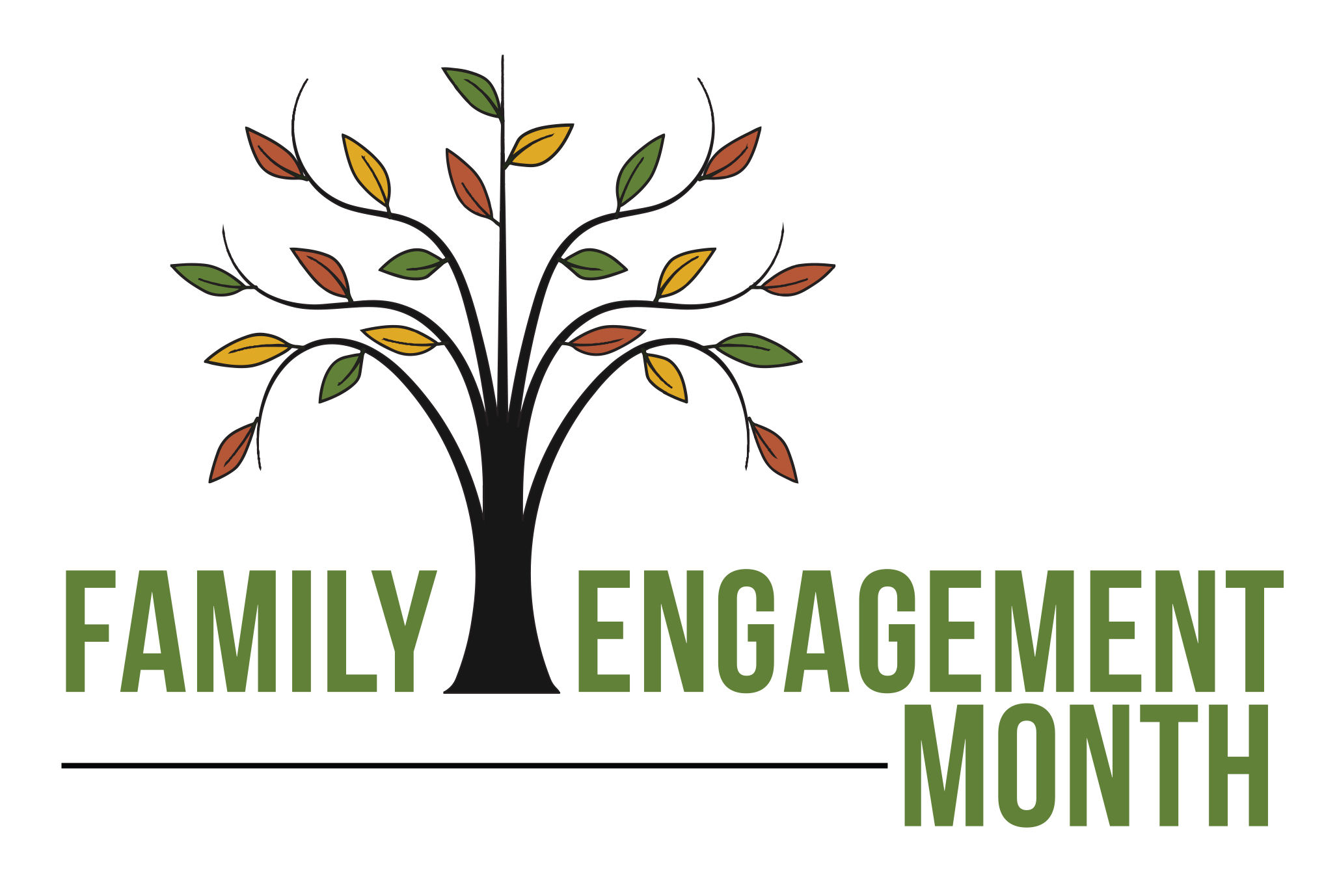 Family Engagment Month Logo
